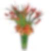 Tropical Waves Flower Arrangement