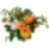 """Verde Bianco Rosso"" Flower Arrangement"