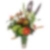 Striking Amber Flower Arrangement