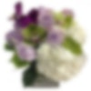 Amethyst Flower Arrangement