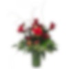 Scarlet Romance Flower Arrangement