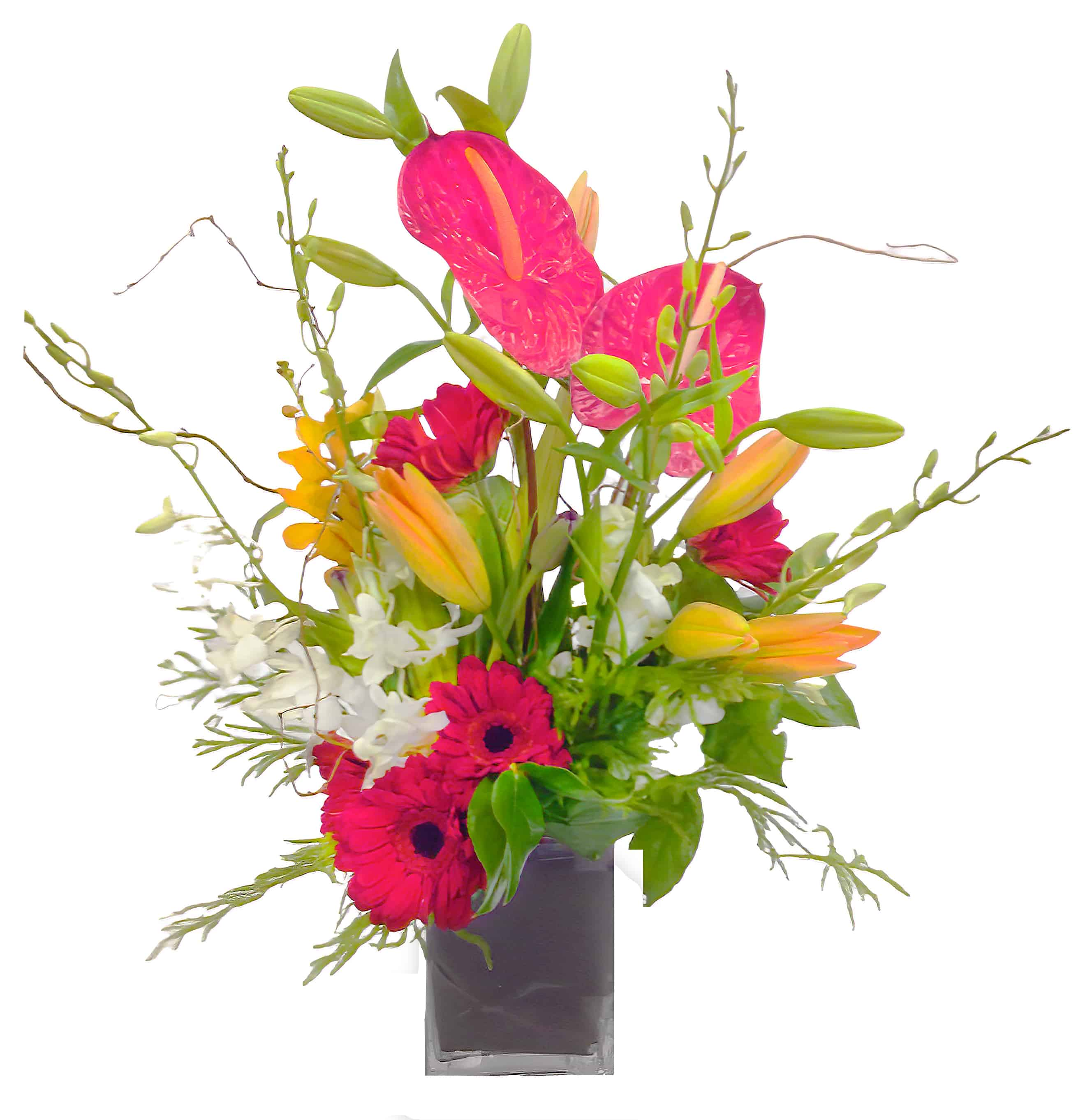 A Splash of Happiness Flower Arrangement | San Francisco Florist Since 1871 Free Bay Area and San Francisco Flower Delivery