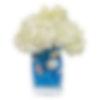 Ocean Blue Flower Arrangement
