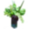Green Tropical Flower Arrangement