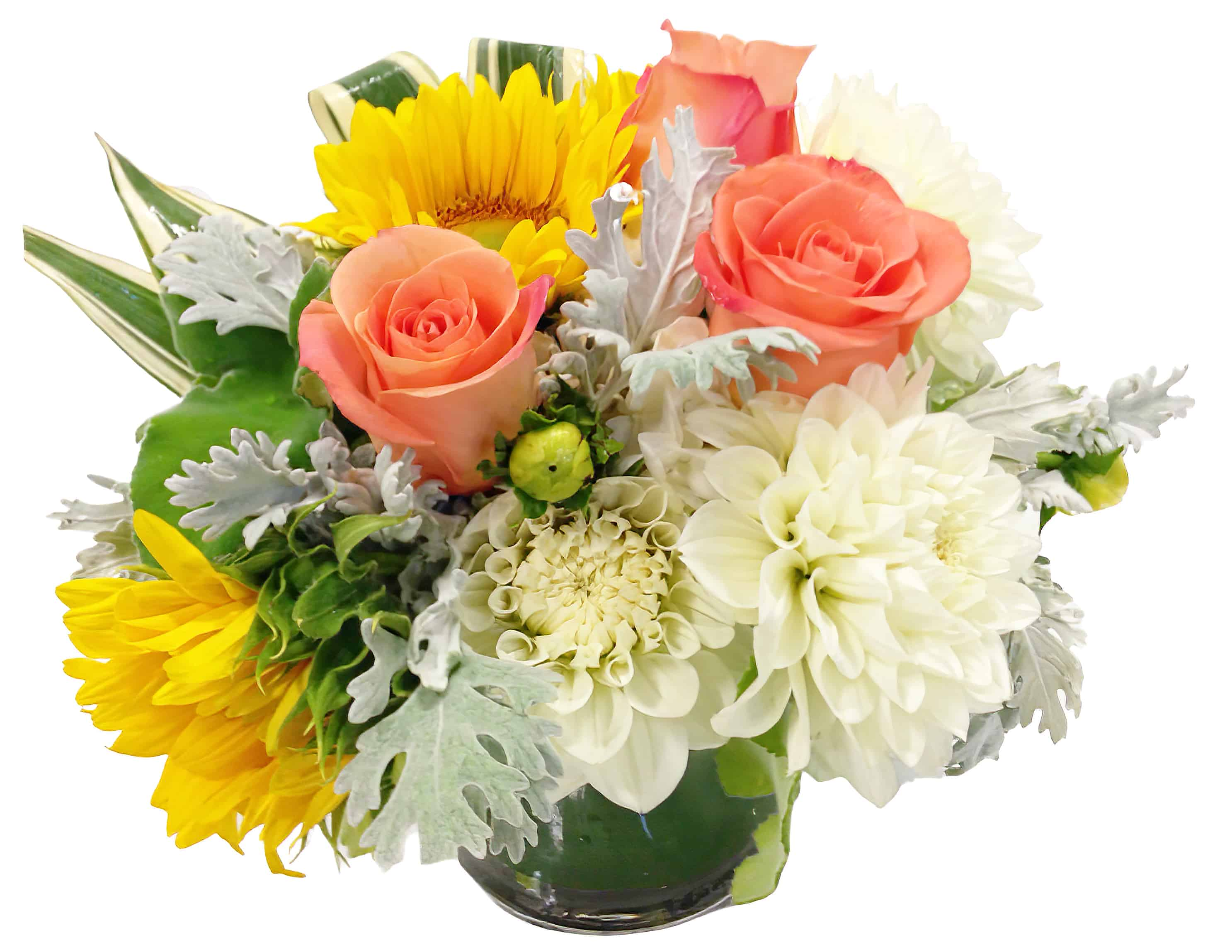 Duomo Sunset Flower Arrangement | San Francisco Florist Since 1871 Free Bay Area and San Francisco Flower Delivery