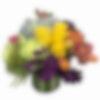 Merletto Crimson Flower Arrangement