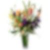 Topaz and Plum Flower Arrangement