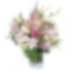 Whispers of Pink Flower Arrangement